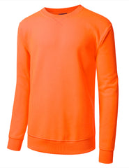 NEONORANGE Basic Crewneck Sweatshirt-Various Colors - URBANCREWS