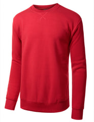 RED Basic Crewneck Sweatshirt-Various Colors - URBANCREWS