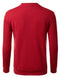 RED Basic Pouch Crewneck Pullover Sweatshirt - URBANCREWS