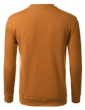 TIMBER Basic Pouch Crewneck Pullover Sweatshirt - URBANCREWS