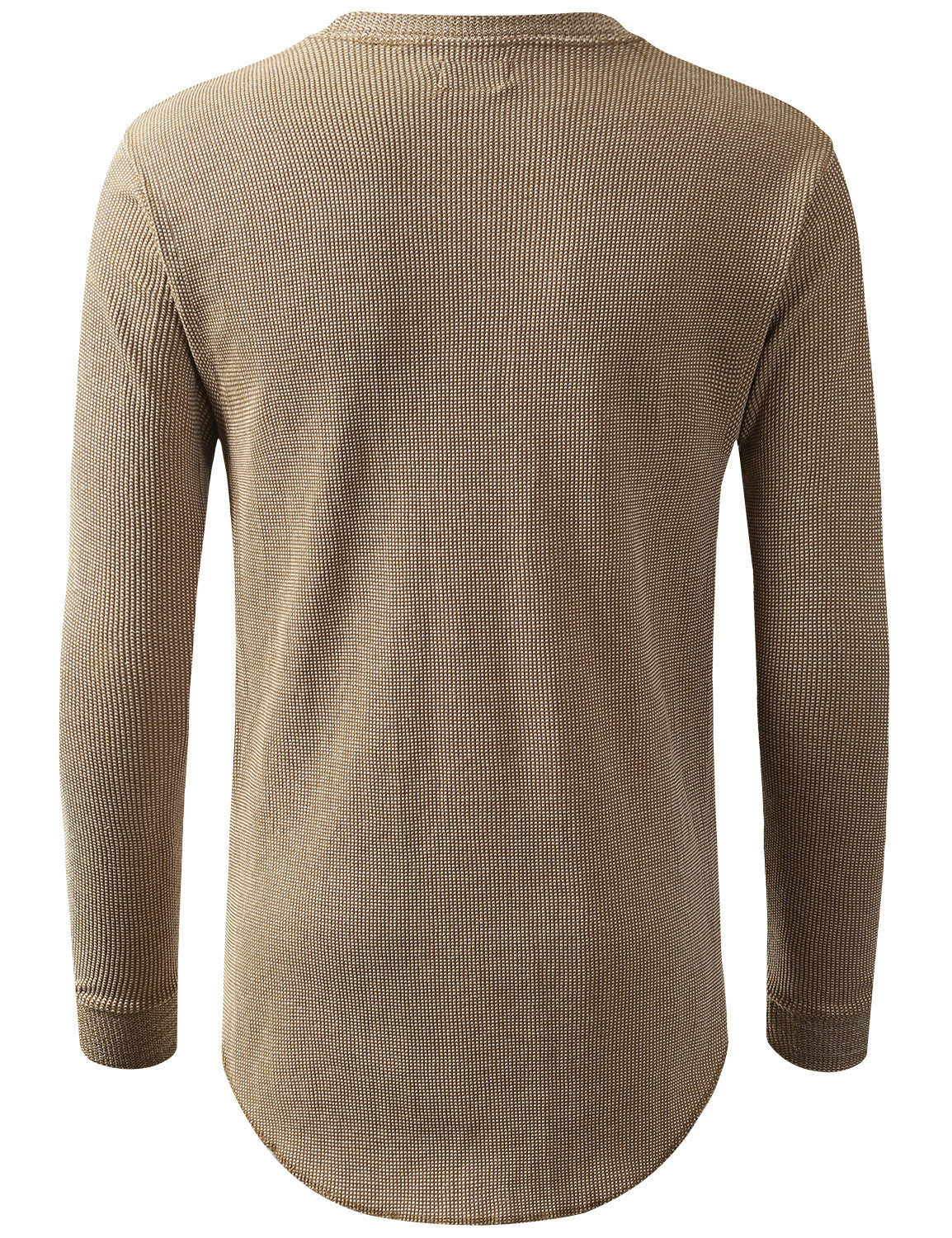 TIMBER Raw Edge Thermal Long Sleeve Tshirt - URBANCREWS