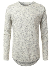 SALT Textured Long Sleeve Tshirt - URBANCREWS