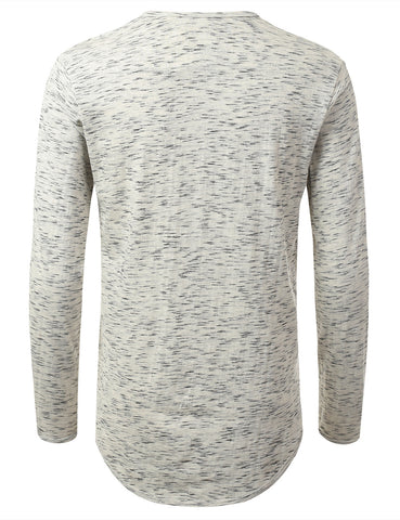 Textured Long Sleeve Tshirt