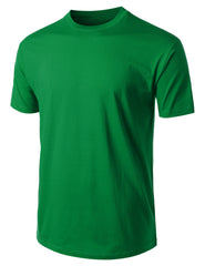 KGREEN Basic Cotton Jersey Crewneck T-Shirt - URBANCREWS