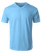 V-NECK-POWDBLUE