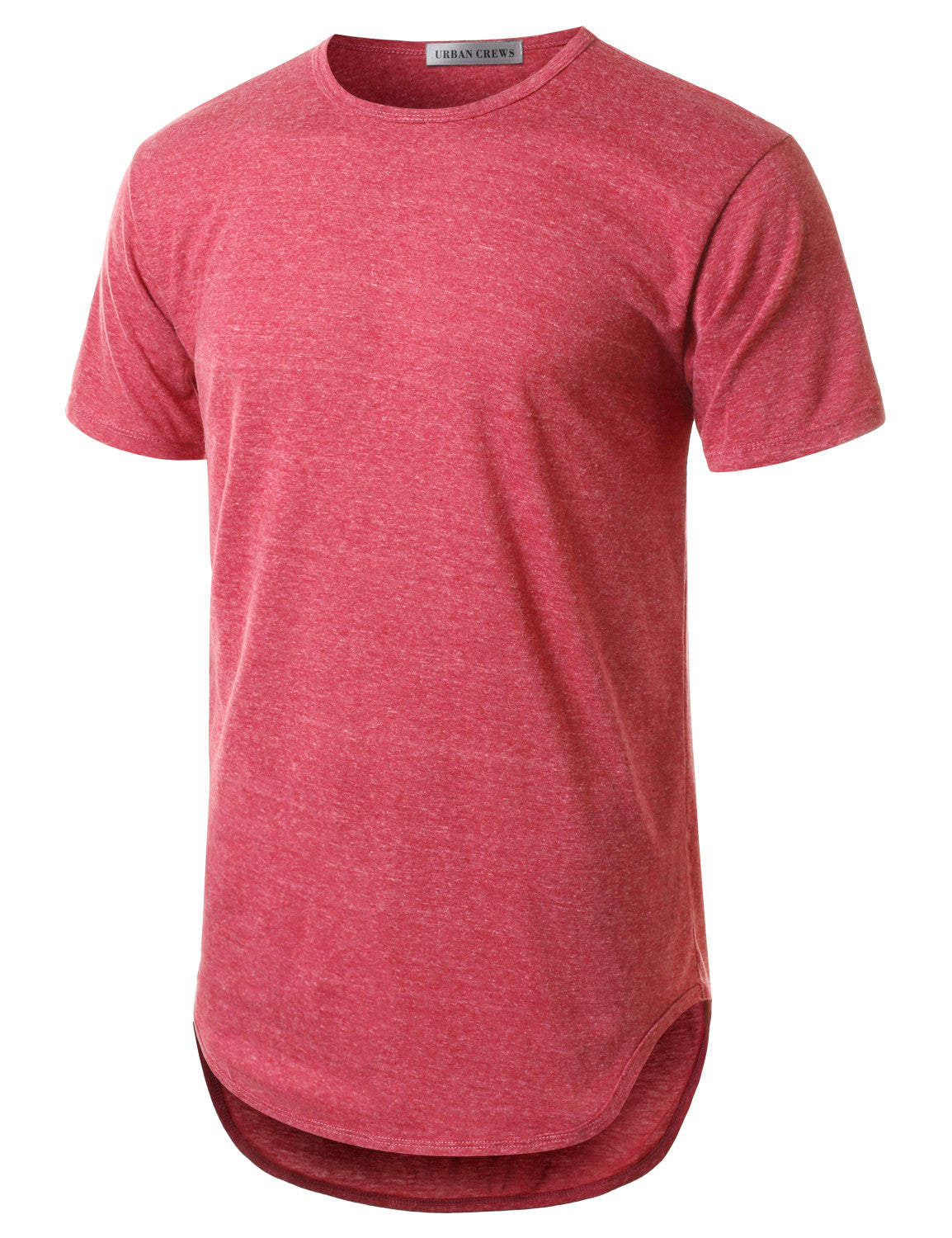 RED Basic Crewneck Longline Tshirts