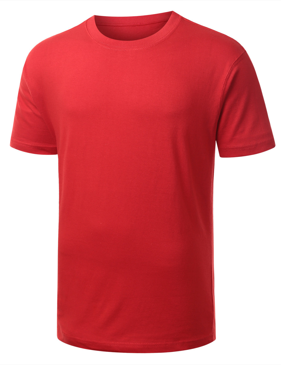 RED Classic Crewneck T Shirt - URBANCREWS