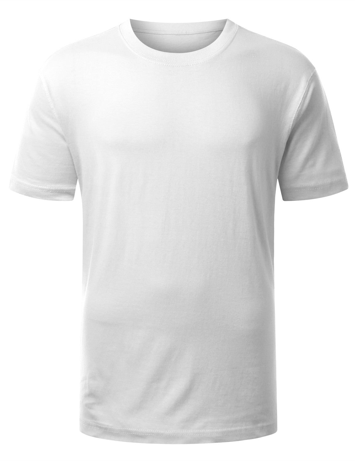 WHITE Classic Crewneck T Shirt - URBANCREWS