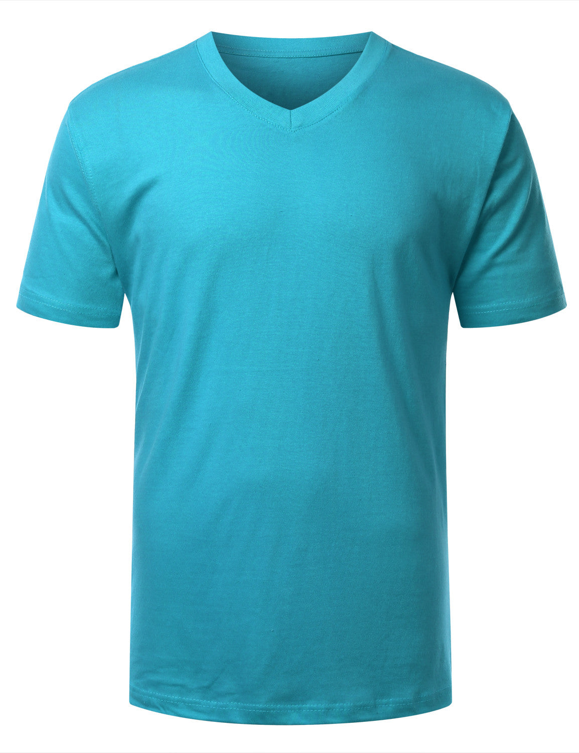 AQUA Basic V-Neck T-Shirt - URBANCREWS