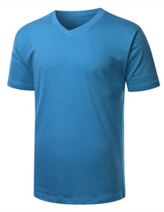 ATLANTICBLUE Basic V-Neck T-Shirt - URBANCREWS