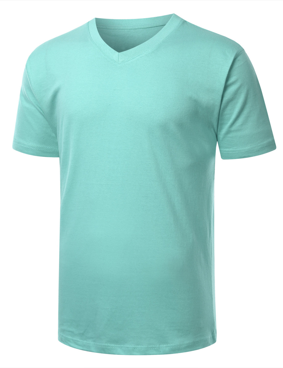 CLEARWATER Basic V-Neck T-Shirt - URBANCREWS