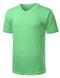 V-NECK-GREENASH