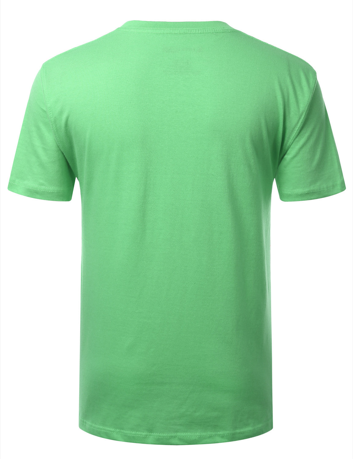 GREENASH Basic V-Neck T-Shirt - URBANCREWS