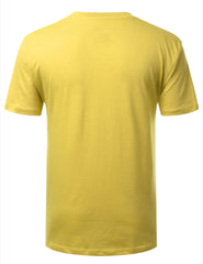 HIGHLIGHT Basic V-Neck T-Shirt - URBANCREWS