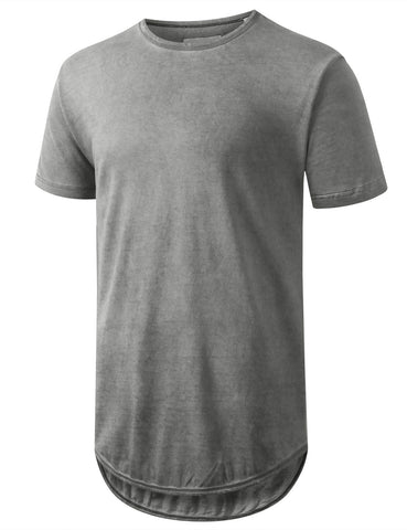 Mineral LT Washed Longline T-shirt