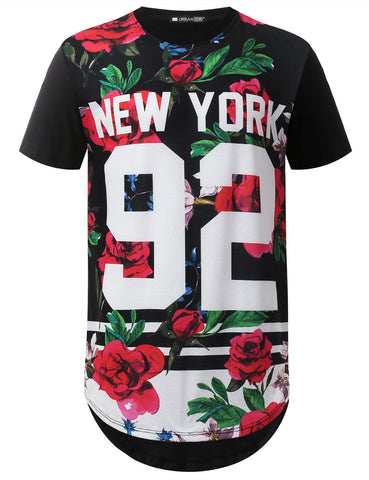 New York 92 Longline Tshirt