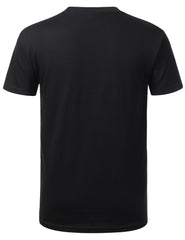 BLACK Knitten Graphic Pocket Tshirt - URBANCREWS