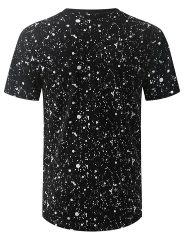 Wings Splatter Longline T-shirt