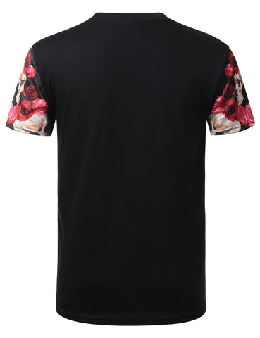 Incredible 99 Floral Crewneck Tshirt