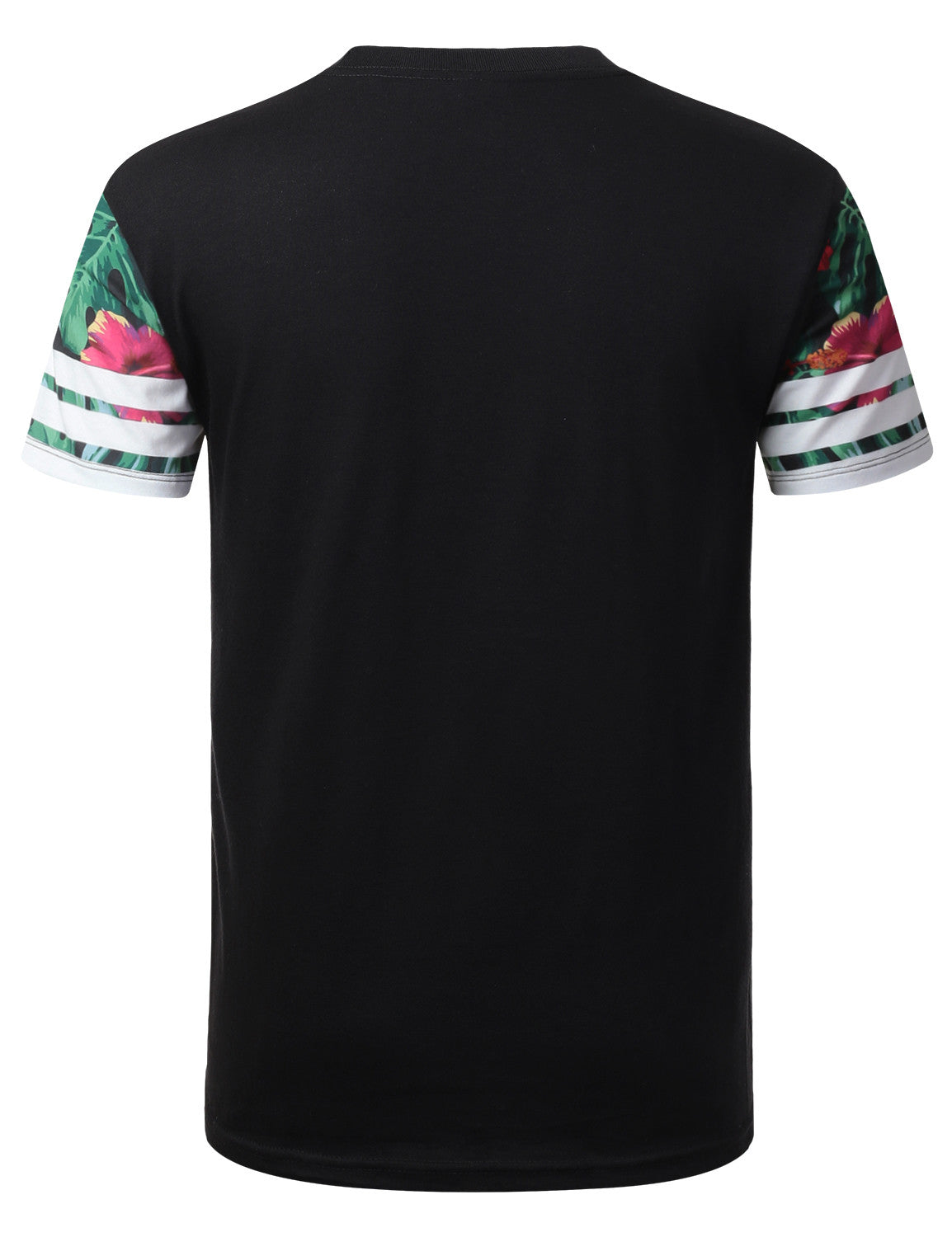 BLACK Superior 23 Floral Crewneck Tshirt - URBANCREWS