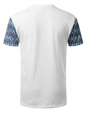 Zulu Tribal Pattern Pocket Tshirt