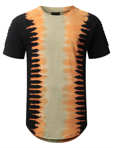 Tie Dyed Longline T-shirt