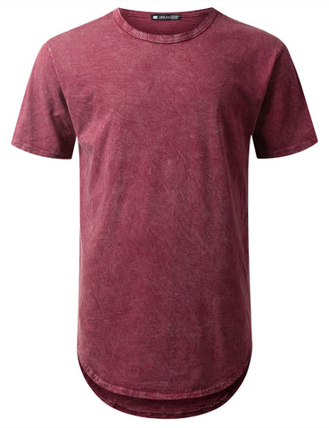 Cotton Dyed Longline T-shirt