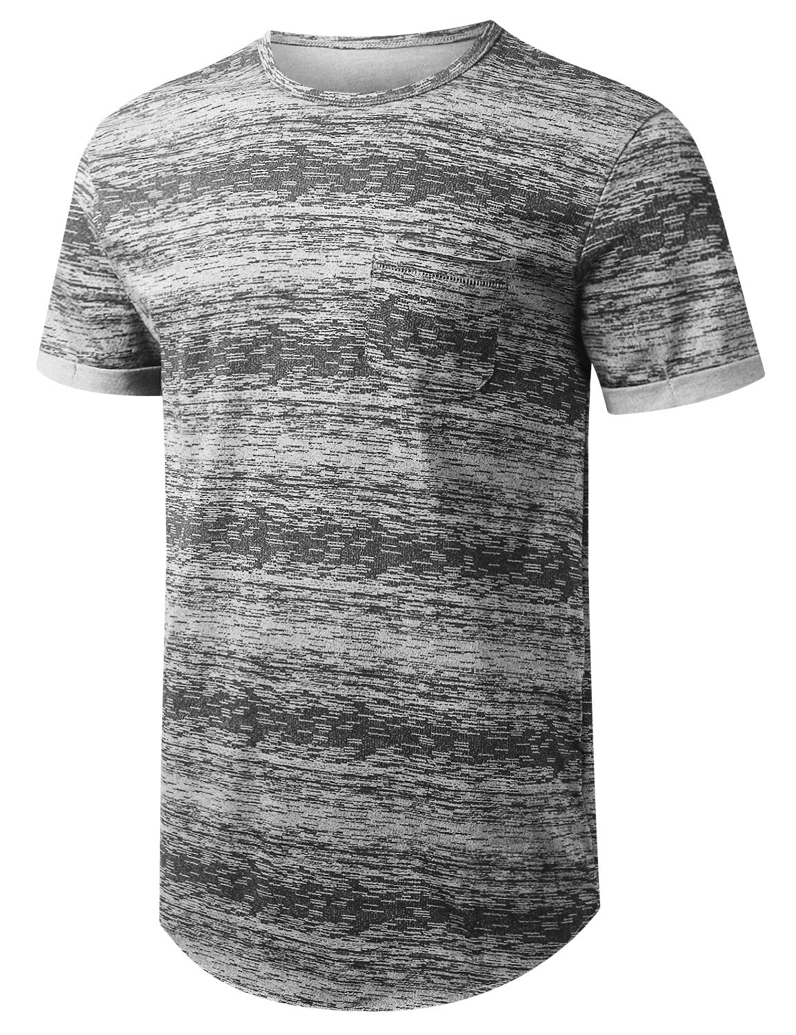 HGRAY Space Dye Paint Pocket T-shirt - URBANCREWS