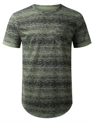 OLIVE Space Dye Paint Pocket T-shirt - URBANCREWS