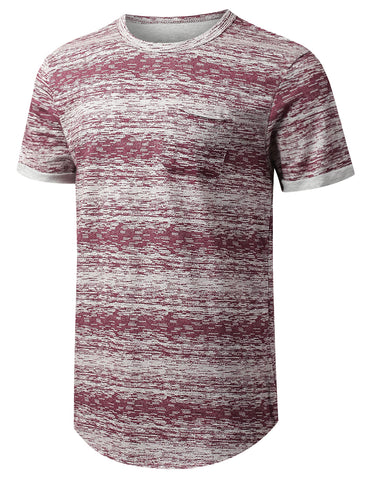 Space Dye Paint Pocket T-shirt