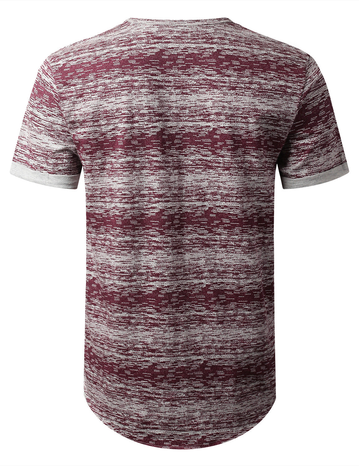 RED Space Dye Paint Pocket T-shirt - URBANCREWS