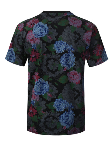 Hope Flower Graphic Print T-shirt