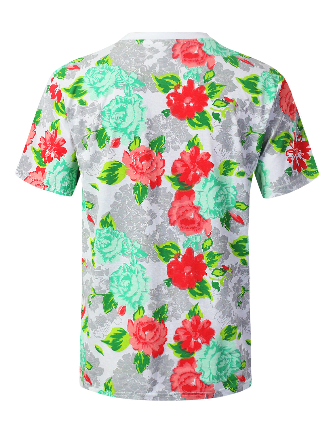 WHITE Hope Flower Graphic Print T-shirt - URBANCREWS