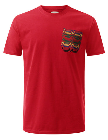 Graphic Knitten Chest Pocket T-shirt