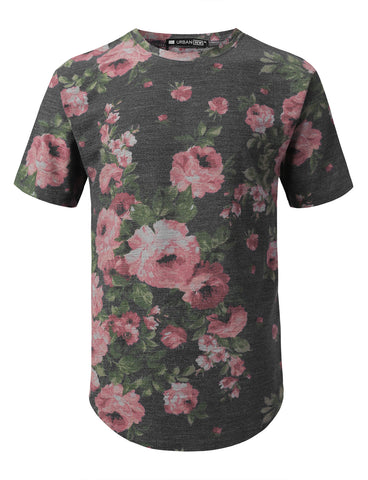 Flower French Terry T-shirt