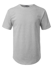 HGRAY Solid Color Cotton T-shirt - URBANCREWS