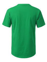 KGREEN Solid Color Cotton T-shirt - URBANCREWS