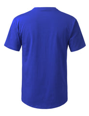 ROYAL Solid Color Cotton T-shirt - URBANCREWS