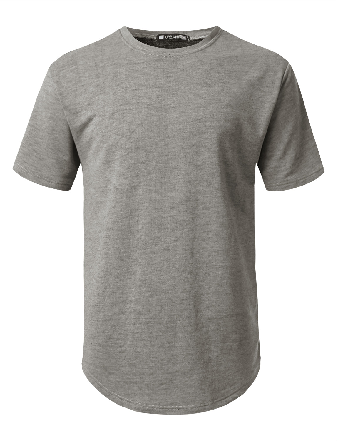 CHARCOAL Dirty Dyed Terry T-shirt - URBANCREWS