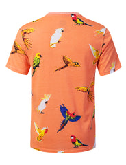 BIRD Animal Graphic Print T-shirt - URBANCREWS