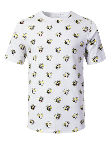 Animal Graphic Print T-shirt