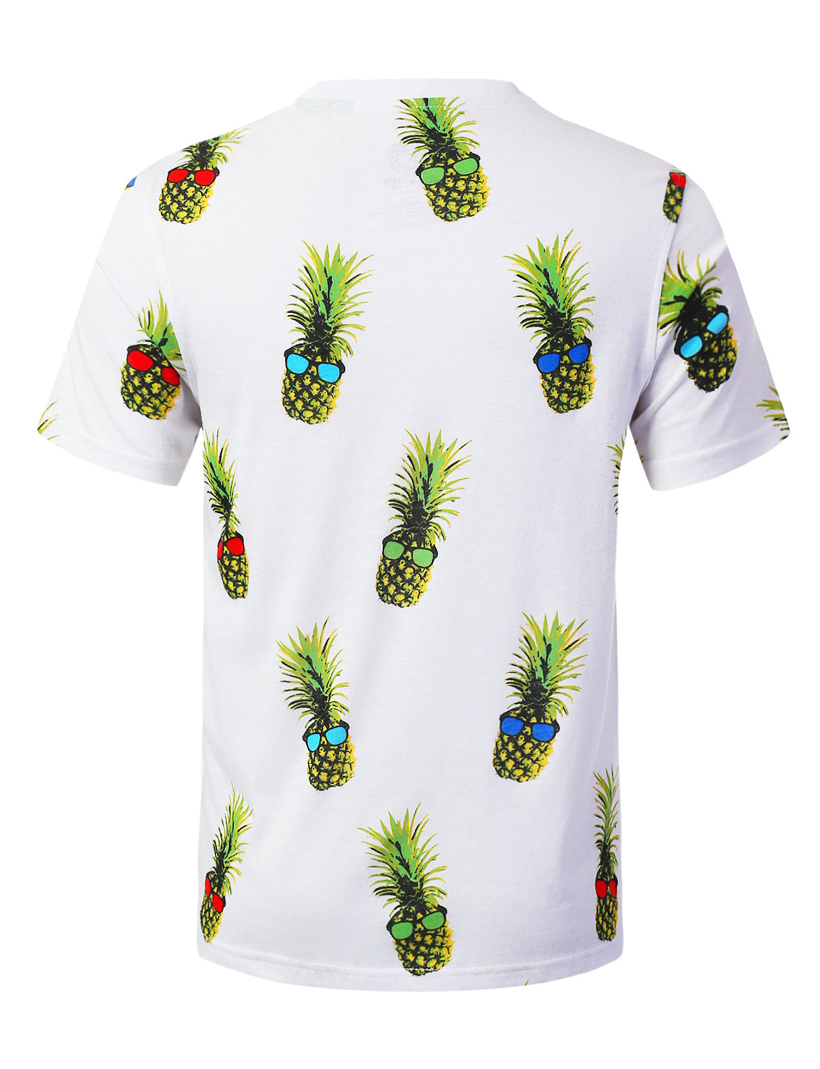 PINEAPPLE Big Food Pattern Graphic Print T-shirt - URBANCREWS