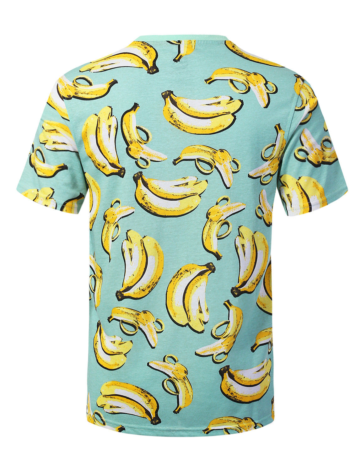 BANANA Big Food Pattern Graphic Print T-shirt - URBANCREWS