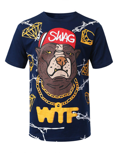 Swag Graphic Print T-shirt