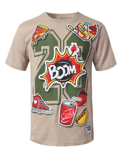 Boom 23 Graphic Print T-shirt