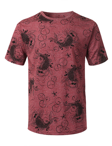 Fancy Graphic Print T-shirt