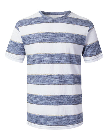 Jacquard Rugby Striped T-shirt