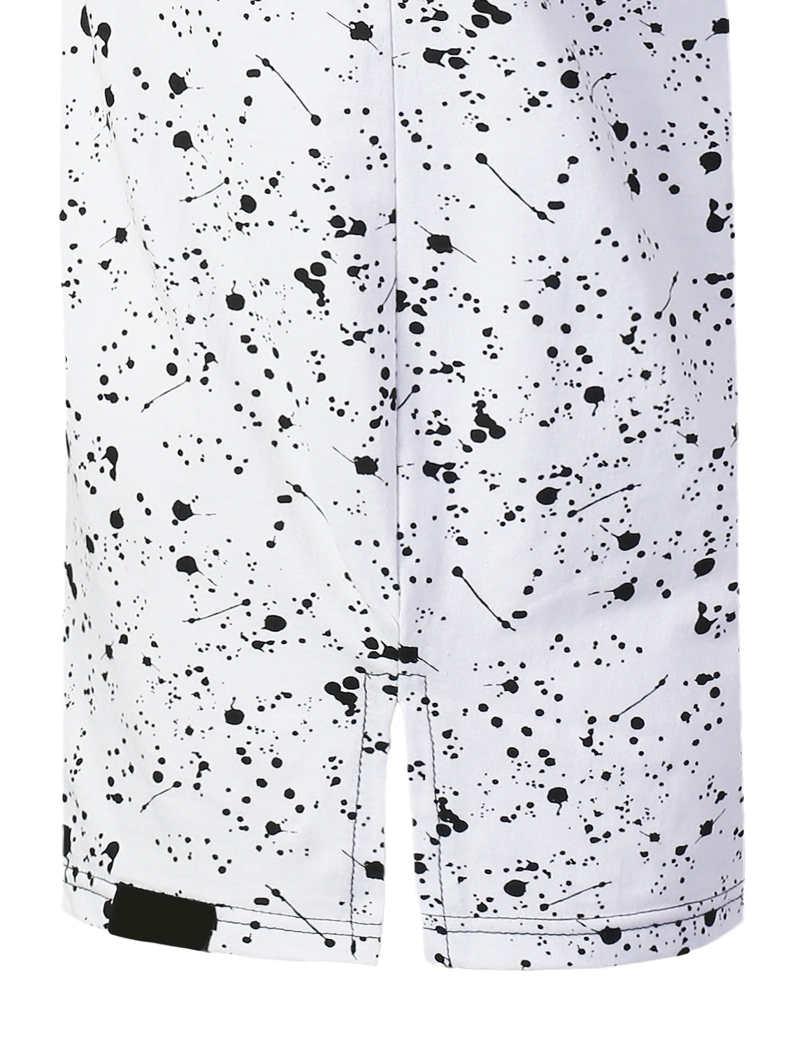 BLACKWHITE Bulls Colorblock Splatter T-shirt - URBANCREWS