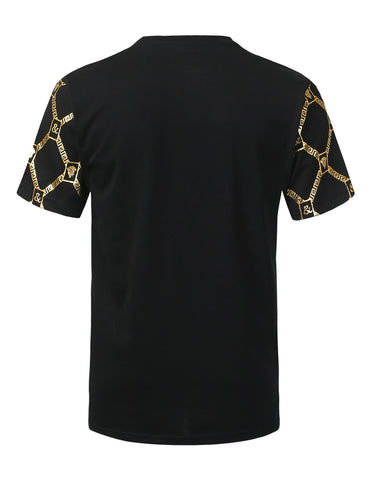 Medusa All Over Foil Print T-shirt