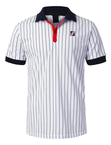 Classic Striped Polo T-shirt